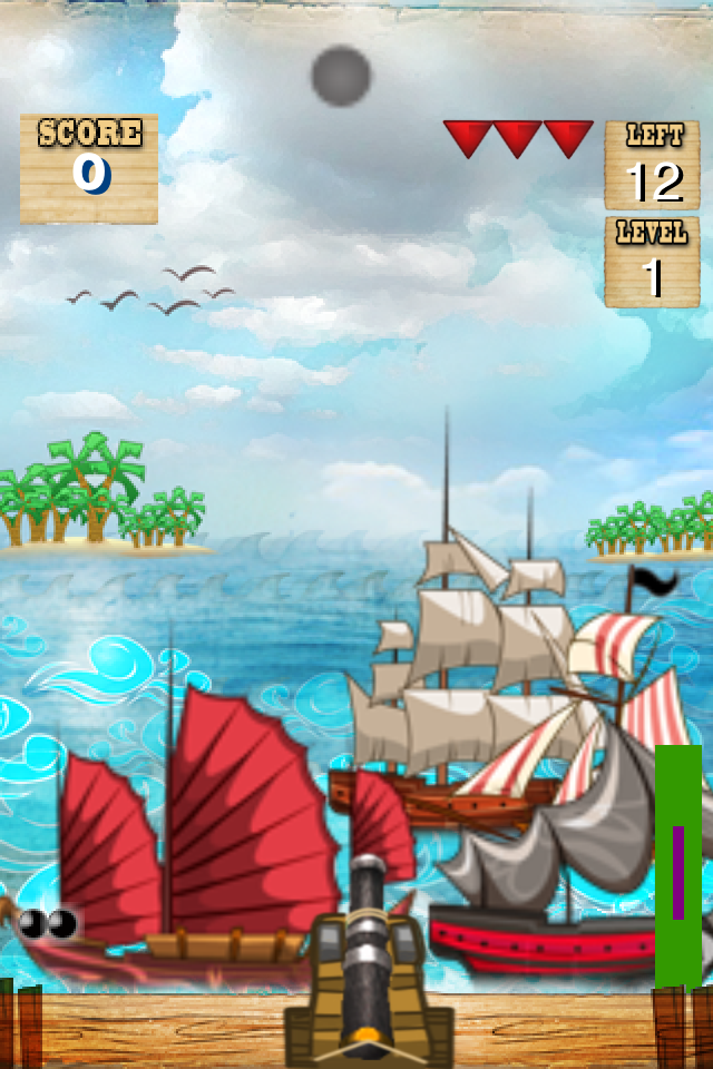 Screenshot iPirate Cannon