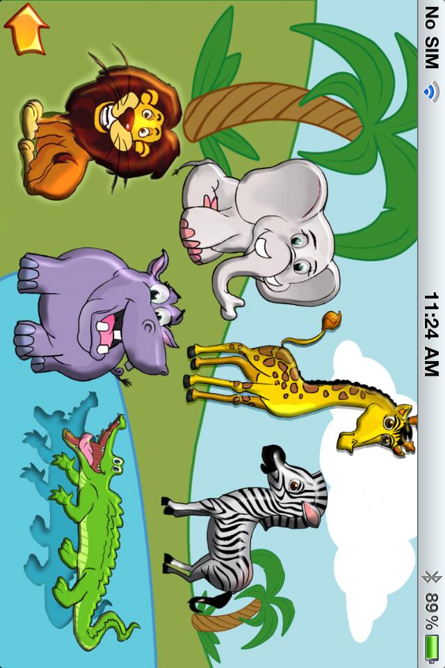儿童第一形状拼图 – 学习动物,数字,字母