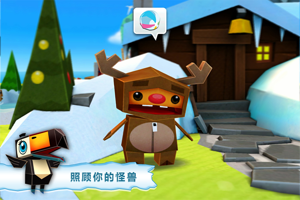 【Gameloft出品】奇妙动物园 — Collect and battle cute mini monsters !