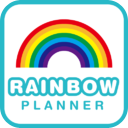 Rainbow Planner mobile app icon